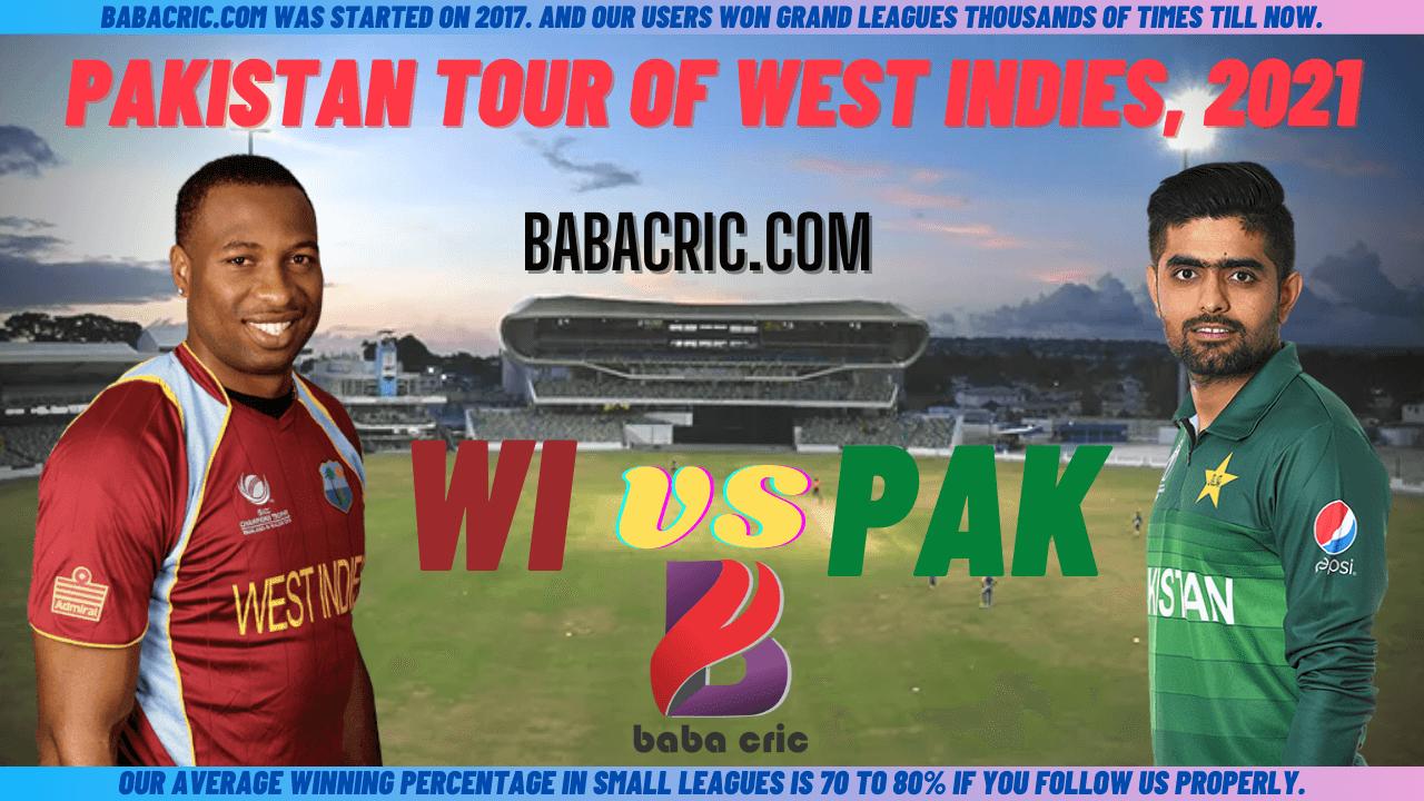 WI vs PAK 4th T20I