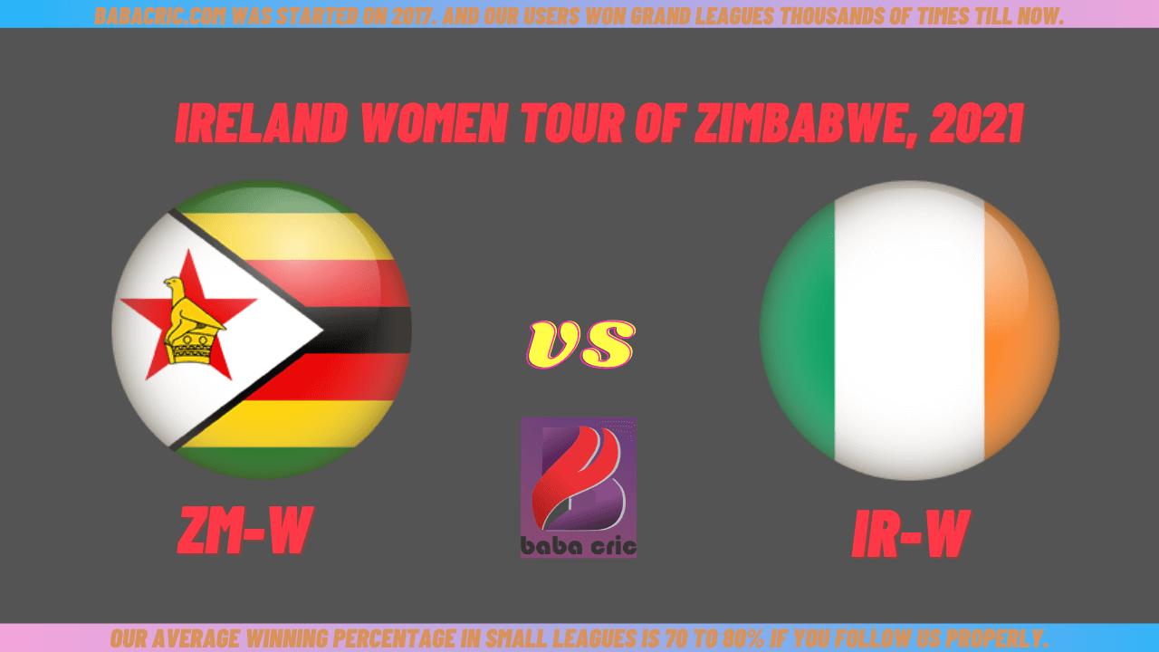 ZMW vs IRW 3rd ODI