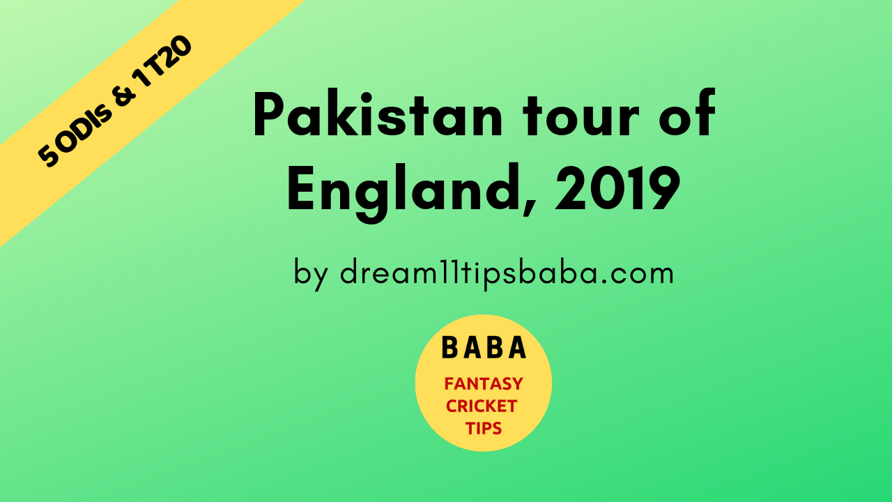 PAK vs ENG Dream11 Team News and Expert Prediction | Live Score