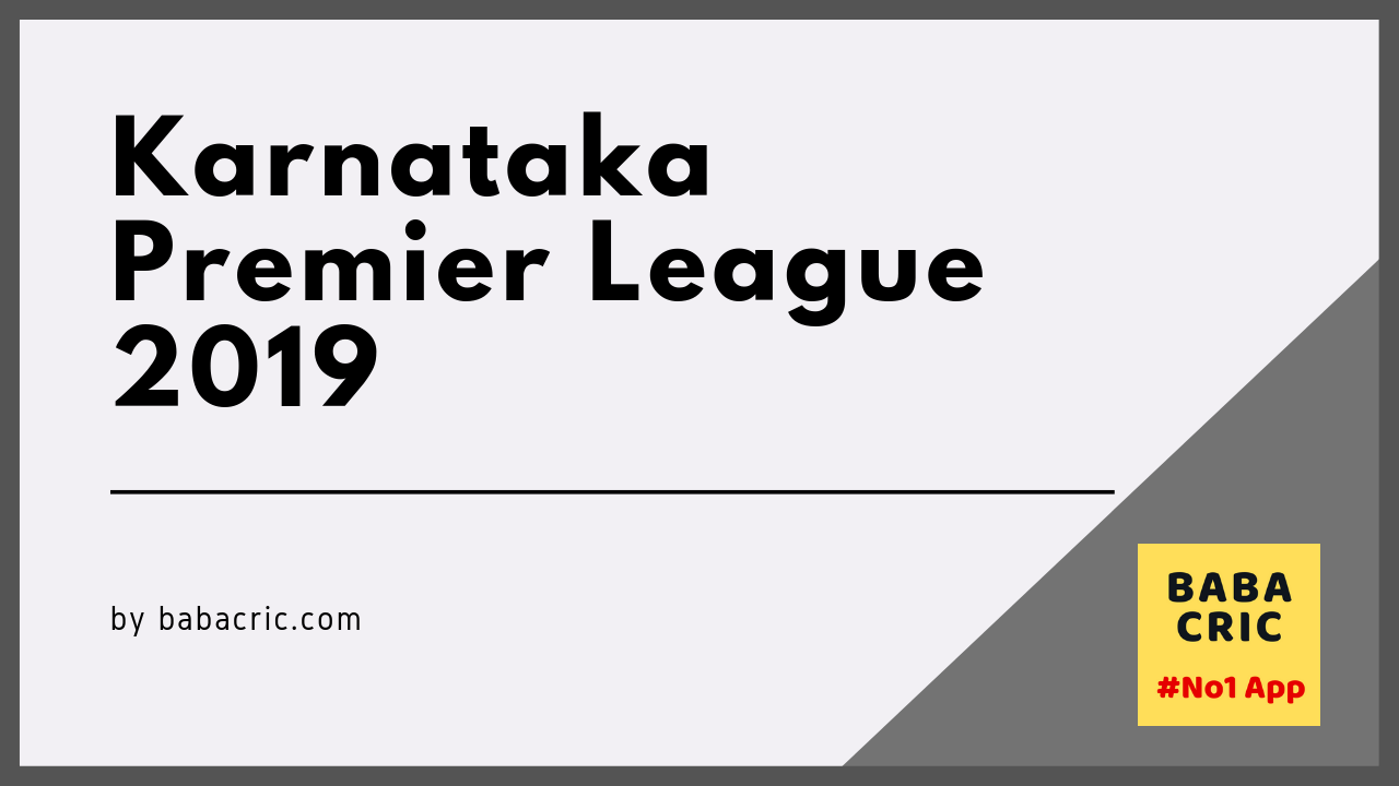 BT vs HT (Karnataka Premier League)