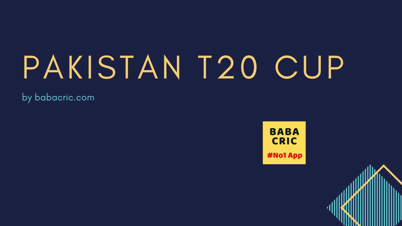 KHP vs SIN (Pakistan T20 Cup)