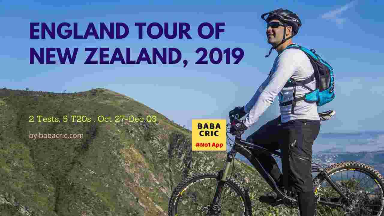England tour of New Zealand, 2019