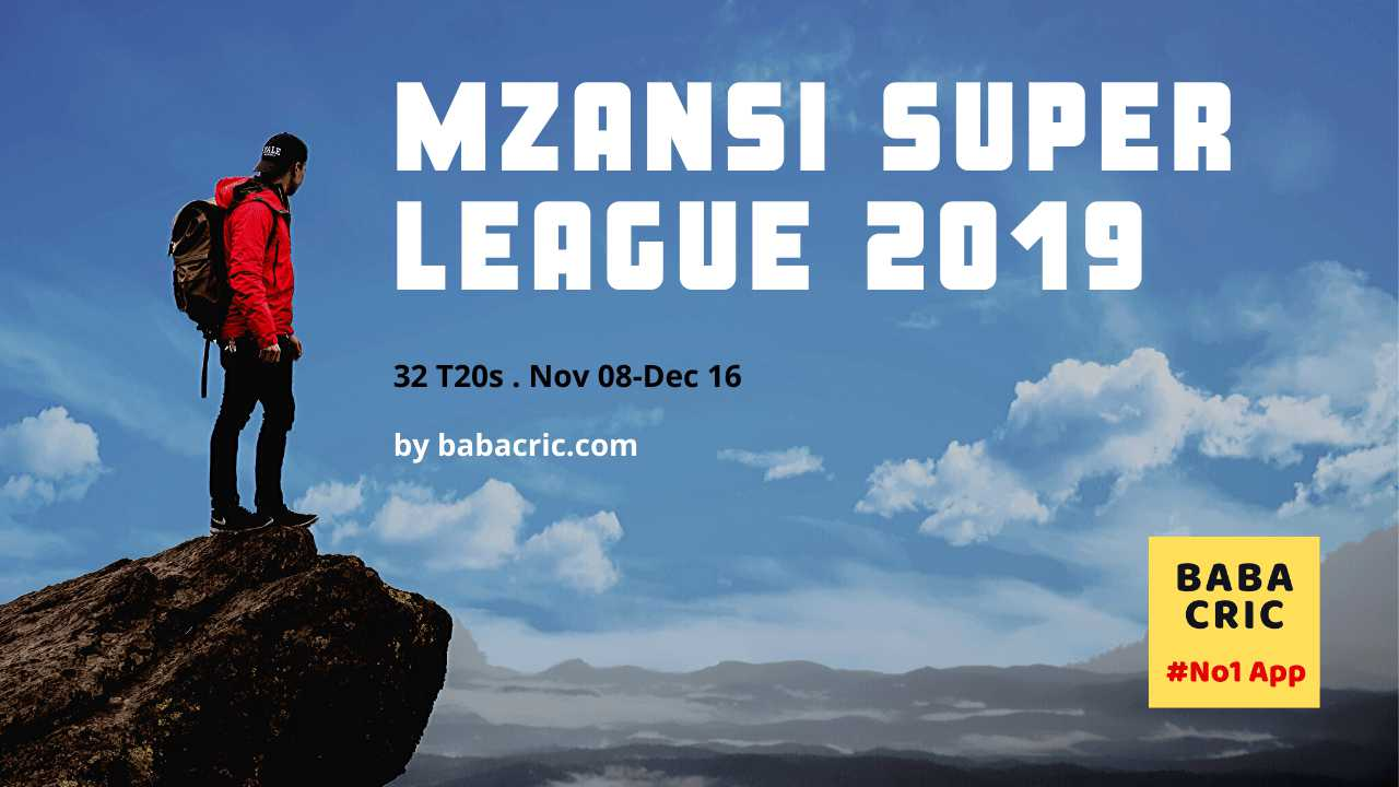DUR vs JOZ (Mzansi Super League MSL)
