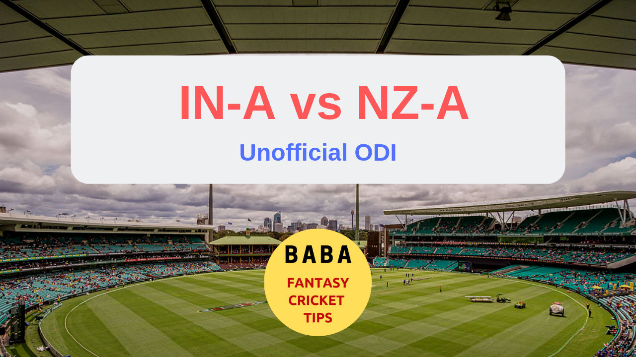 INA vs NZA Dream11 Prediction Team News | Live Score