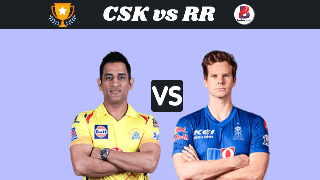 CSK vs RR Dream11 Prediction | IPL 2020 Team | Live Score