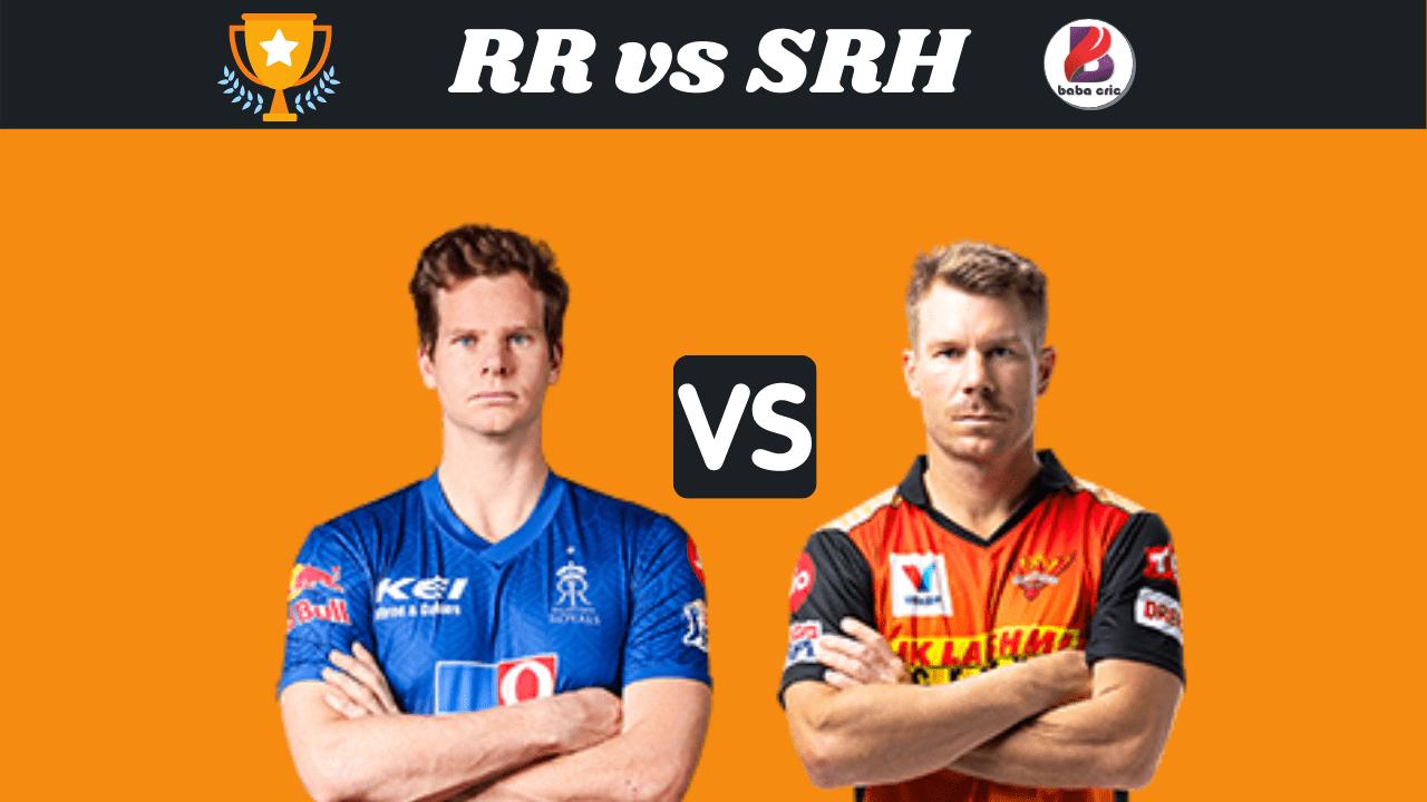 RR vs SRH (IPL 2020)