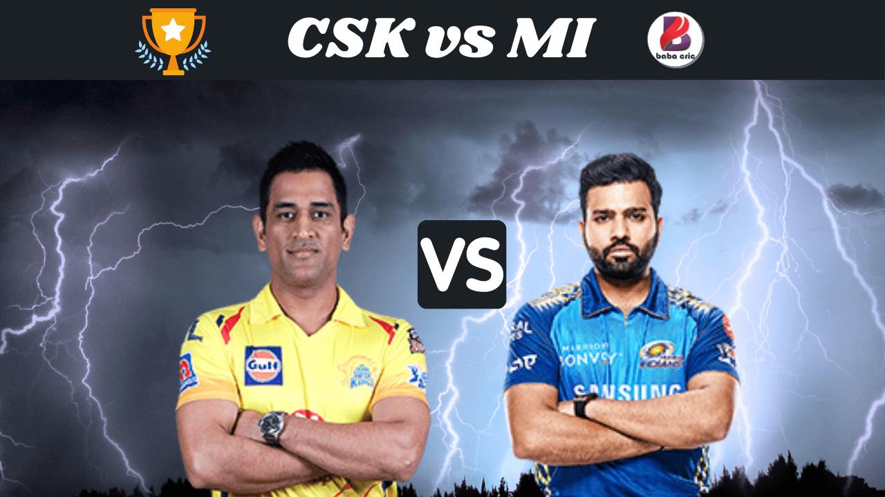 CSK vs MI (IPL 2020)