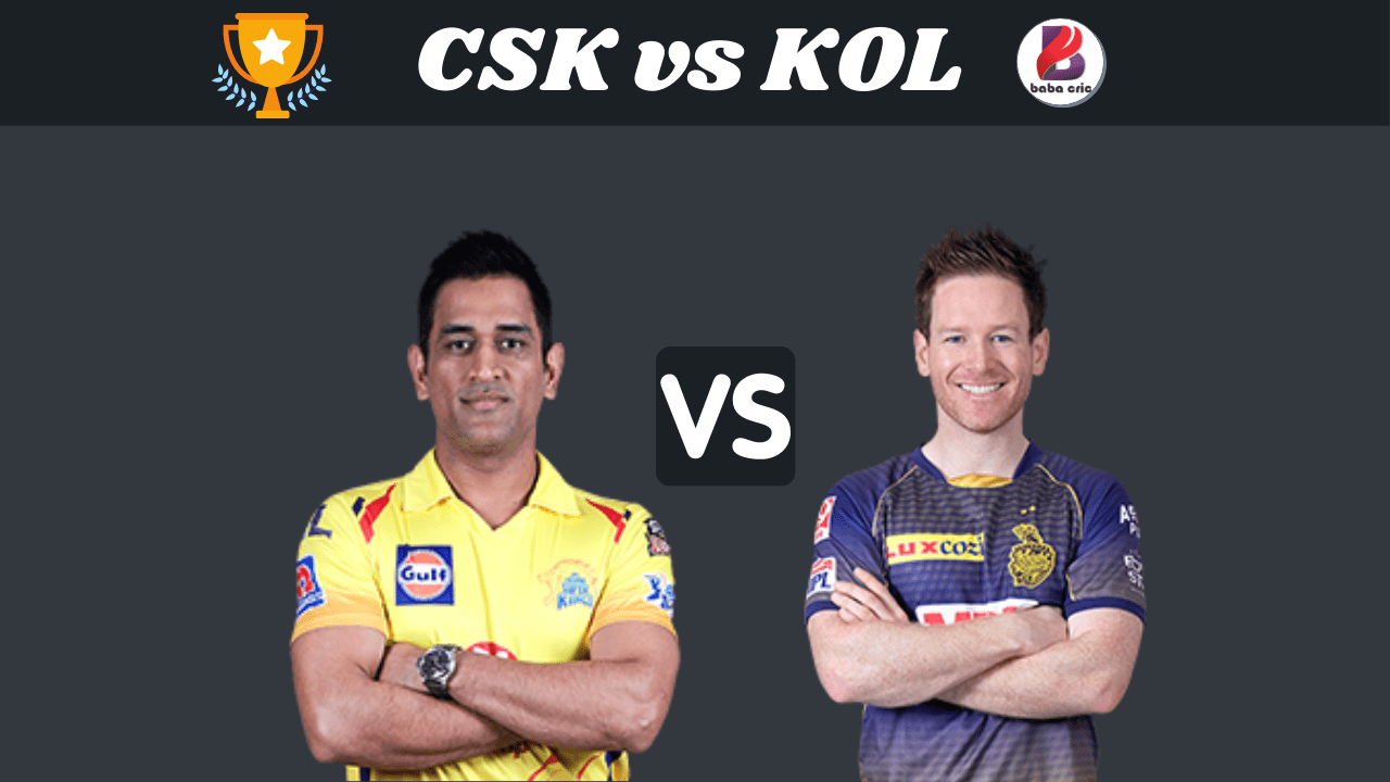 CSK vs KOL Dream11 Prediction | IPL 2020 Team | Live Score